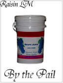 Buy wine grape juice by the pail